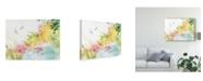 "Trademark Global Sheila Golden Dragonfly Harmony Canvas Art - 15"" x 20"""