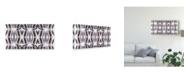 "Trademark Global Jennifer Goldberger Mirror Mirror IV Canvas Art - 37"" x 49"""