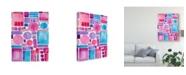 """Trademark Global Regina Moore Mod Shapes I Canvas Art - 37"""" x 49"""""""