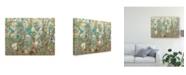 "Trademark Global Tim Otoole Flowering Vines II Canvas Art - 20"" x 25"""