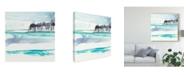 "Trademark Global Jennifer Goldberger Mountains to Sea VIII Canvas Art - 15"" x 20"""