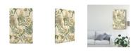 """Trademark Global Johann Weinmann Garden Grid II Canvas Art - 37"""" x 49"""""""
