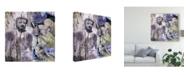 """Trademark Global Surma & Guillen Timeless Buddha III Canvas Art - 27"""" x 33"""""""