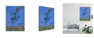 "Trademark Global Paul Bailey Twilight Over Red Marsh Canvas Art - 37"" x 49"""
