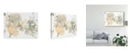 "Trademark Global June Erica Vess Planifolia I Canvas Art - 20"" x 25"""