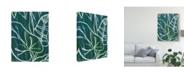 """Trademark Global June Erica Vess Jungle Batik I Canvas Art - 37"""" x 49"""""""