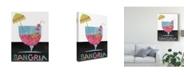 """Trademark Global Regina Moore Mix Me a Drink V Canvas Art - 20"""" x 25"""""""
