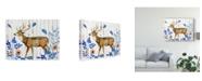"Trademark Global Melissa Wang Dear Deer II Canvas Art - 20"" x 25"""