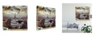 "Trademark Global Sandy Lloyd Eiffel Romance I Canvas Art - 20"" x 25"""