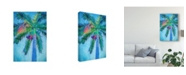 "Trademark Global Melinda Bradshaw Royal Palm Caribbean I Canvas Art - 15"" x 20"""
