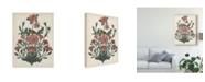 "Trademark Global Melissa Wang Treasures of the Earth II Canvas Art - 20"" x 25"""