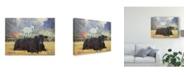 """Trademark Global Carolyne Hawley Farm Pals V Canvas Art - 15"""" x 20"""""""