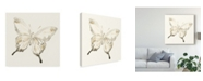 """Trademark Global June Erica Vess Sepia Butterfly Impressions IV Canvas Art - 20"""" x 25"""""""