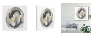 "Trademark Global June Erica Vess Neutral Vortex IV Canvas Art - 15"" x 20"""