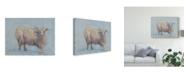 "Trademark Global Marilyn Wendling Sheep Strut I Canvas Art - 15"" x 20"""