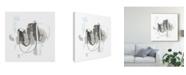 "Trademark Global June Erica Vess Gray Scale V Canvas Art - 15"" x 20"""