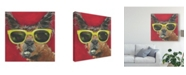 "Trademark Global Jennifer Rutledge Dapper Animal IV Canvas Art - 15"" x 20"""