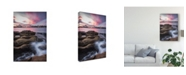 "Trademark Global Danny Head From the Rocks Canvas Art - 15"" x 20"""