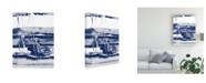 "Trademark Global Ethan Harper Alternating Current VI Canvas Art - 20"" x 25"""
