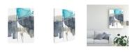 "Trademark Global Jennifer Goldberger Ua Ch Kinetic Grid VI Canvas Art - 20"" x 25"""