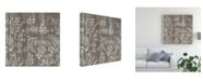 "Trademark Global June Erica Vess Weathered Wood Patterns V Canvas Art - 15"" x 20"""