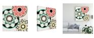 """Trademark Global June Erica Vess Modern Baskets III Canvas Art - 15"""" x 20"""""""