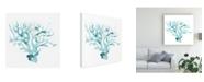 "Trademark Global June Erica Vess Ocean Cameo I Canvas Art - 20"" x 25"""