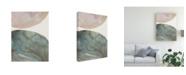 "Trademark Global Victoria Borges Gravitate IV Canvas Art - 15"" x 20"""