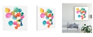 "Trademark Global Chariklia Zarris Jig IV Canvas Art - 15"" x 20"""