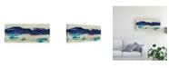 "Trademark Global J. Holland Vibrant Horizon I Canvas Art - 20"" x 25"""