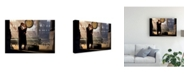 "Trademark Global Chris Consani Au Revoir Canvas Art - 15"" x 20"""