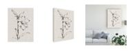 "Trademark Global Ethan Harper Floral Ink Study I Canvas Art - 15"" x 20"""