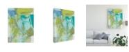"Trademark Global Christina Long Sea Glass Abstraction II Canvas Art - 15"" x 20"""