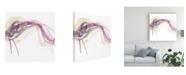 "Trademark Global June Erica Vess Wave Equation I Canvas Art - 15"" x 20"""