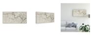 """Trademark Global Joseph Stadler River Thames I Canvas Art - 15"""" x 20"""""""