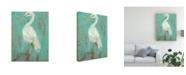 "Trademark Global Jennifer Goldberger Sea Spray Heron II Canvas Art - 20"" x 25"""