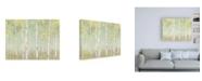 "Trademark Global Julia Purinton Sylvan Birches Canvas Art - 36.5"" x 48"""