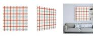 "Trademark Global Danhui Nai Floursack Nautical Pattern VII Canvas Art - 19.5"" x 26"""