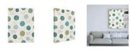 """Trademark Global Janelle Penner Boho Field Pattern IIIA Canvas Art - 15.5"""" x 21"""""""