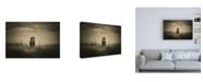 """Trademark Global Mohammed Alnaser One-Eye Beast Canvas Art - 36.5"""" x 48"""""""