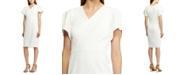 Lauren Ralph Lauren Crepe Short-Sleeve Dress