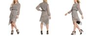 DKNY Printed Layered Dress