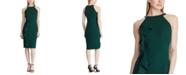Lauren Ralph Lauren Ruffled Halter Dress