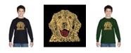 LA Pop Art Boy's Word Art Long Sleeve T-Shirt - Dog