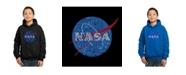 LA Pop Art Boy's Word Art Hoodies - NASA's Most Notable Missions
