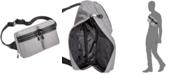 Steve Madden Men's Double-Pocket Waist Bag