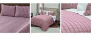Rizzy Home Riztex USA Satinology Orchid Queen Quilt