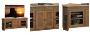 """Legends Furniture Oak Creek 72"""" Angled TV Console"""