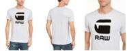 G-Star Raw Men's Flocked Hamburger T-Shirt