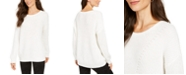 Style & Co Ribbed Drop-Shoulder Sweater, Created For Macy's